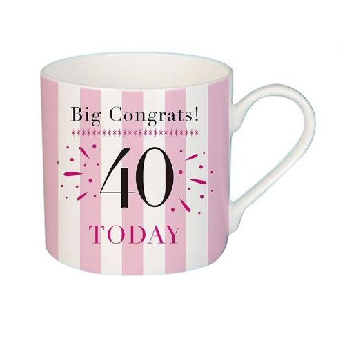 Big Congrats 40 Mug female